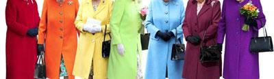 ارتباط رنگ لباس با چهره افراد