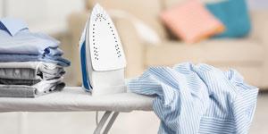 رعایت نکاتی در مورد اتو کردن لباس